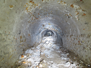 tunnel effondré