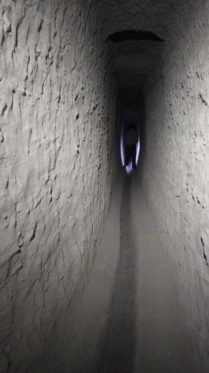 tunnel dans la masse